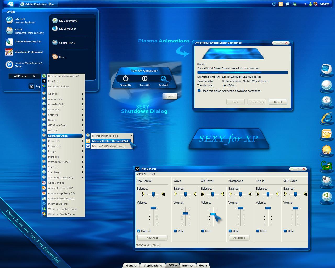 Stardock Windows xp Windows xp Click The