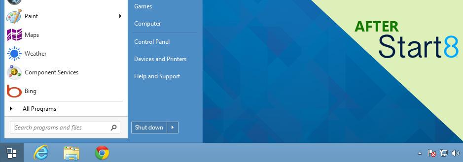 Stardock Windows 8 Start Menu The Windows® Start Menu